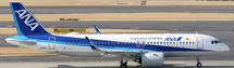ANA A320neo JA211A w/Stand