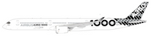 Airbus A350-1000 (Carbon Livery) F-WLXV w/Stand