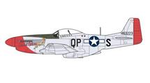 "P-51D Mustang ""Sweet Arlene,"" 2nd Lt. Arthur R. Bowers, 334th FS, 4th FG, USAAF"