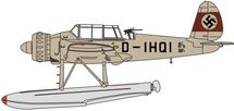 Ar 196 V2 Prototype D-IHQI, 1938