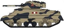 M4A2 Sherman III Royal Scots Greys, British Army, Italy, 1943
