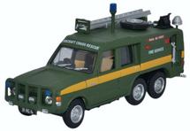 Truck Fire-Fighting Airfield Crash Rescue Mark 2 Range Rover (TACR2) RAF St. Mawgan