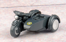 BSA Motorcycle with Sidecar Royal Air Force