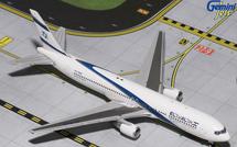 El Al B767-300ER 4X-EAN Gemini Diecast Display Model