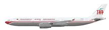 TAP Portugal A330-300 (70S RETRO LIVERY) CS-TOV w/Stand