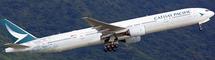 MISC B777-300ER Spirit of Hong Kong B-HNK w/Stand
