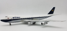 BOAC Boeing 747-100 G-AWNM Polished With Stand