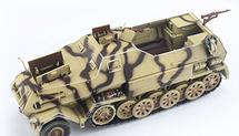 Sd.Kfz.8 Half-Track German Army, w/Mobile Launch Trailer