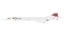 British Airways Concorde, G-BOAF Gemini Diecast Display Model