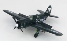 SB2C Helldiver USN VB-87, White 203, USS Ticonderoga, May 1945