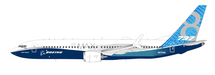Boeing 737-8 Max House color N8704Q With Stand