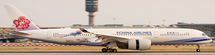 China Airlines A350-900 Urocissa Caerulea, Flaps B18908 w/Std
