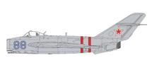 MiG-17 Fresco Soviet Air Force, Blue 88, Invasion of Czechoslovakia August 1968