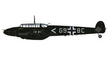 Bf 110E Luftwaffe II/NJG1, G9+BC, St Trond, France