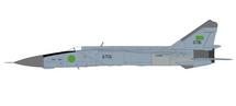 MiG-25PD Foxbat-E LIbyan Air Force 1025th Aerial Sqn, Black 6717