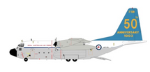 Australia Air Force Lockheed C-130E Hercules (L-382) A97-17850th anniversary With Stand