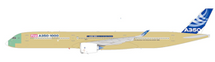 Airbus A350-1000 (Bare Metal, Flaps Down) F-WMIL w/Stand