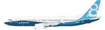 Boeing B737 MAX8 (House Livery) N8704Q w/Stand