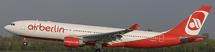 Air Berlin A330-200 D-ALPA w/Stand