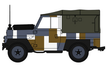 Land Rover British Army Berlin Infantry Bgd
