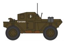 Dingo Scout Car Polish Army 10th Mounted Rifles, England, 1942