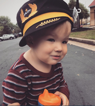 Children`s Pilot Hat