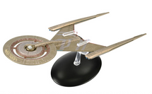 Federation Crossfield Class Starship - Comes with Collector Magazine