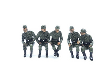 German Army, Vehicle Riders 5-Piece Set A
