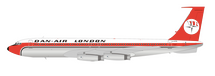 Dan-Air London Boeing 707-300 G-AYSL With Stand