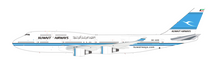 Kuwait Airways Boeing 747-400 9K-ADE Al-Jabriya With Stand