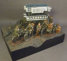No Man`s Land Diorama Base, The Great War 1914-1918 (1pc)