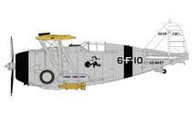 F3F-1 USN VF-7 Blue Burglar Wasps, 1930s