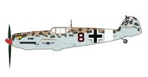Bf 109E Luftwaffe 2./JG 27, Black 8, Franz Elles, Libya
