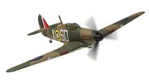 Hurricane Mk.I, V6799 K.W. McKenzie, 501 Sqn, Gravesend 1940 - 100 Years of the RAF