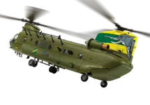 CH-47 Chinook HC.4 RAF ZA683, 27 Sqn, Centenary Scheme 2016 - 100 Years of the RAF
