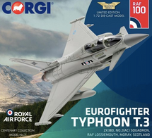 Eurofighter Typhoon T3 ZK380 II(AC) Squadron - 100 Years of the RAF