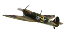 Spitfire Mk.IIa RAF No.504 Squadron, Ballyhalbert, Northern Ireland, 1941 - 100 Years of the RAF