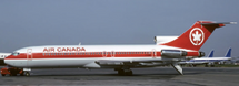 Air Canada B727-200 (Red Strip Livery) C-GYNE w/Stand