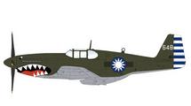 P-51C Mustang Chinese Air Force No.32 Sqn, #648, China, 1945