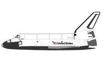 Space Shuttle NASA, OV-103 Discovery, 1994