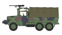 M35 2.5 Ton Truck ROC Army, Taiwan