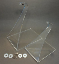 STAND-C&D, Medium-Small and Tall Stands, two stands with four parts each
