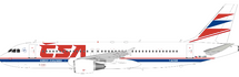 CSA Czech Airlines Airbus A320-214 OK-LEE With Stand