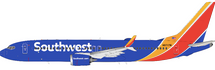 Southwest Airlines Boeing 737-8 Max N8717M w/ Stand