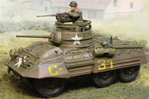US M8 Greyhound Light Armored Car Normandy, 1944