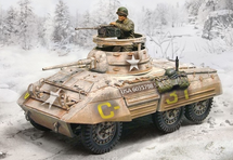 US M8 Greyhound Light Armored Car Winter 1944