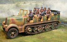 German Sd. Kfz. 7 8-Ton Personnel Carrier / Prime Mover Normandy, 1944