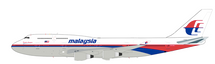 Malaysia Airlines Boeing 747-4H6M 9M-MHL With Stand 28 models