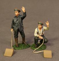 German Choc Men, Knights of the Skies, two figures