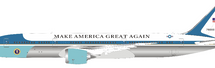 "USAF Boeing 787-9 Air Force One 78000 Polished w/ stand ""Make America Great Again"""